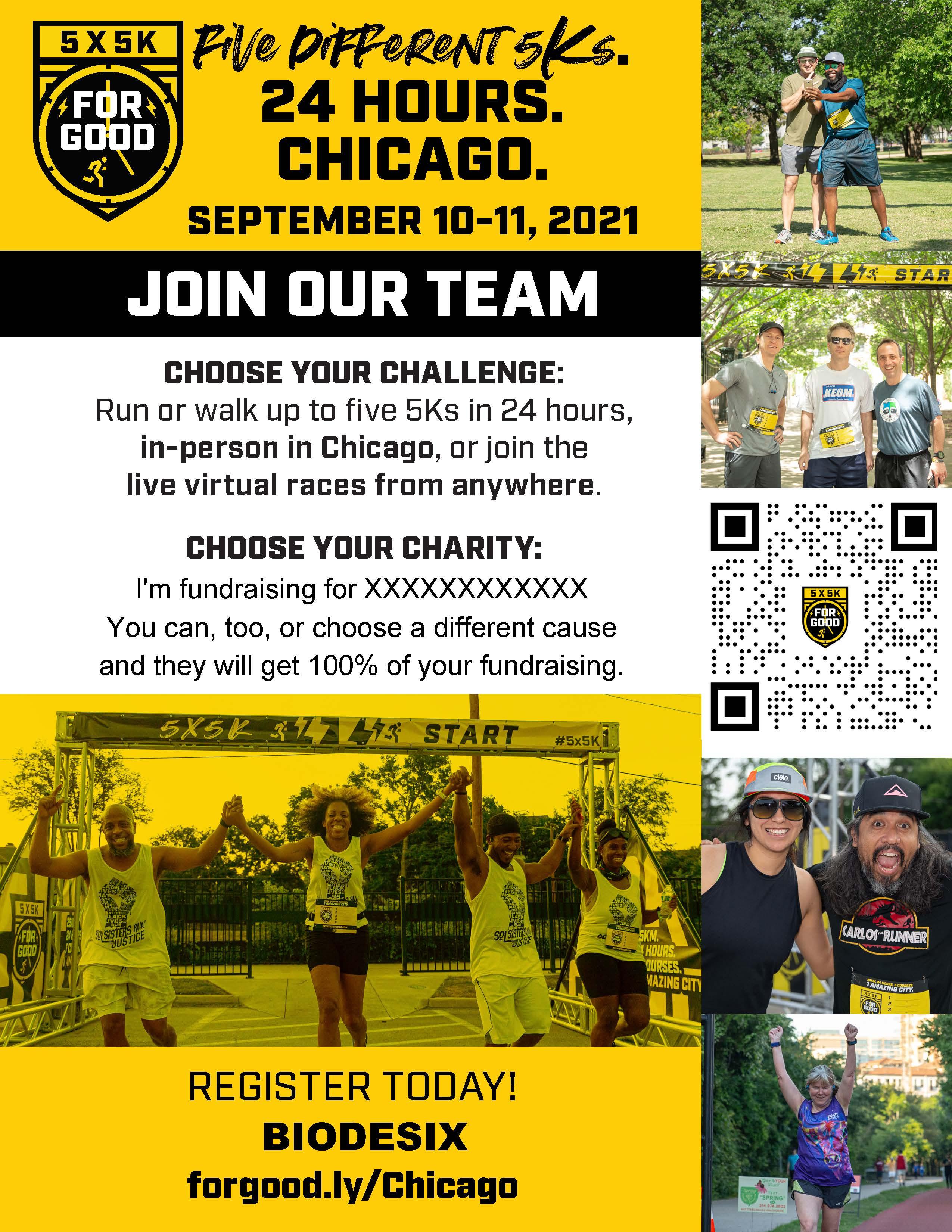 Chicago team flyer